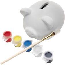Spardose Sparschwein DIY zum selber Bemalen Basteln Kinder Selber Gestalten