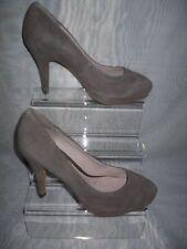 Faux Suede Upper Standard (B) Unbranded Heels for Women