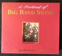 A Portrait of Big Band Swing 48 Tracks 2CD Boxset Sleeve NM
