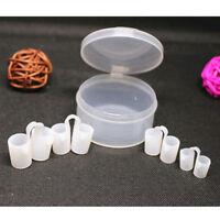 2 Box Mini Nose Vents Sleeping Aid Silicone Anti-Snore Device Stop Snoring Clip