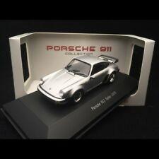Porsche 911 Turbo 3.0 1975 gris argent 1/43 Atlas 7114005