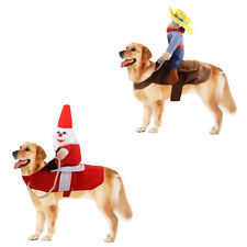 Pet Costume Dog Cosplay Clothes for Halloween Christmas Fiesta Event Theme Party