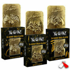 Yu-Gi-Oh! - Limited Edition 24K Gold Plated God Cards - Complete Set of 3