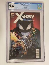X-Men Blue Annual #1 ~ CGC 9.6 ~ Pasqual Ferry 1:25 Variant