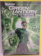 Green Lantern Les Chevaliers de L'émeraude dvd