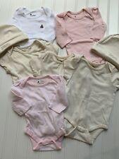 Baby Gap Body Suit Bundle Lot Hat Size 0-3 Months