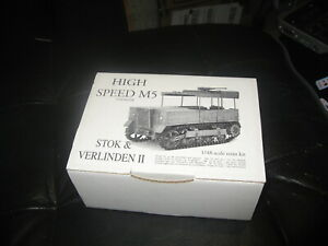 High Speed M5 resin kit in 1/48 scale by Stok & Verlinden II