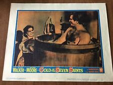 GOLD OF THE SEVEN SAINTS Lobby Card #7 - CLINT WALKER/LETICIA ROMAN