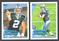 JIMMY CLAUSEN 2010 TOPPS FACTORY VARIATION RC #221 SP PANTHERS NOTRE DAME (*