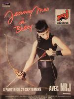 PUBLICITÉ DE PRESSE 1989 JEANNE MAS A BERCY SUR NRJ - ADVERTISING