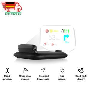 Auto OBD2 + GPS Head Up Display Navigation HUD Spiegelprojektion Tachometer