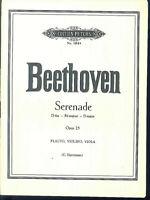 Beethoven ~ Serenade D-Dur Opus 25 ~ Flöte, Violine, Viola