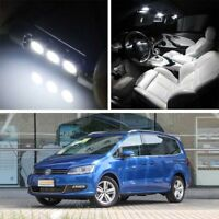 11-18 17x LED license plate lamp interior light Decoder for VW Sharan 7N