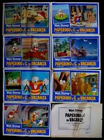 H82 Fotobusta Donald Pluto Goofy E Co. IN Urlaub Comic Walt Disney