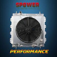 2-Row/CORE Aluminum Radiator+Fan Shroud For Chrysler PT Cruiser LX L4 01-10