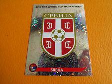 297 BADGE SRBIJA SERBIE  PANINI FOOTBALL FIFA WORLD CUP 2010 COUPE DU MONDE