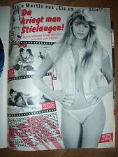 SONJA MARTIN EIS AM STIEL BRAVO ARTIKEL CLIPPING 1983, 80er Jahre, 80s,  20/83