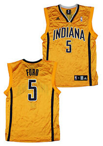 Adidas Men's NBA Indiana Pacers T.J. Ford #5 Basketball Jersey, Color Options