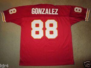 Tony Gonzalez #88 Kansas City Chiefs NFL Jersey 48 Vintage Rookie
