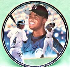 "Bradford Exchange 1998 Ken Griffey Jr. ""1998 Homerun Leader"" collectable plate"