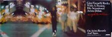 RARE GINO VANELLI NIGHTWALKER 1981 VINTAGE ORIG MUSIC RECORD STORE PROMO POSTER