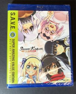 Senran Kagura Ninja Flash The Complete Series [ S.A.V.E (Blu-ray + DVD) NEW