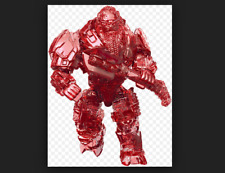 Mega Construx - HALO -  Warrior series - ATRIOX - red TRANSLUCENT - in Package