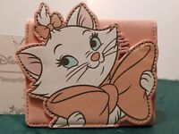 "DISNEY LOUNGEFLY THE ARISTOCATS DIE-CUT MARIE CARDHOLDER WALLET NEW 4.5"" X 5"""