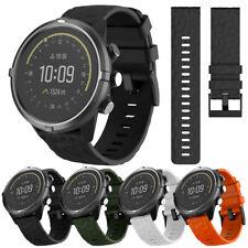 24mm Universal Diamond Silicone Durable Wristband Strap For Suunto Core Watch