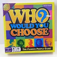 Cheatwell Games Who Would You Choose - Brettspiel in Englisch - NEU NEW