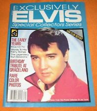 Exclusively Elvis Special Collector's Series #1, Spring 1987 (Volume 1, #1)