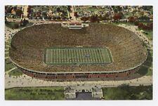University of Michigan Footbal Stadium in Ann Arbor, MI Color Postcard