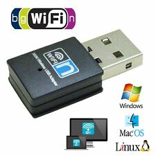 300Mbps Wifi Wireless Adapter 802.11 B/G/N Network LAN Mini USB Adapter Dongle