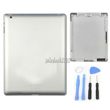 For Apple iPad 2 Wifi Version Back Door Battery Cover Metal Case Housing Sliver