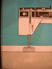 Chanteur original 290 machine à coudre manuel d'instructions