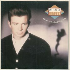 "45 TOURS / 7"" SINGLE--RICK ASTLEY--WHENEVER YOU NEED SOMEBODY / JUST GOT FRIEND"