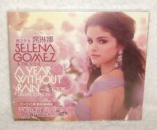 Selena Gomez & The Scene A Year Without Rain Taiwan Ltd CD+DVD BOX