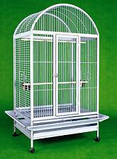 "Everila Large Bird Parrot Cage Dometop 36""x26""x65"" Macaw African Grey Cockatoo"