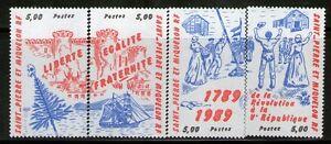 SPM  504-507 NEUF ** SANS CHARNIERE TTB  - BICENTENAIRE REVOLUTION FRANCAISE
