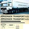 Volvo Jorgensen Transport A/S Norway (N) 1:87 Truck Decal LKW Abziehbild