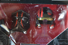 Star Wars Black Series Die-Cast Metal Helmets TIE FIGHT PILOT ELITE & POE DAMERO