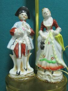 MID CENTURY TABLE PARLOR ELECTRIC LAMPS PICK 1
