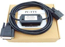 PC-TTY 6ES5734-1BD20 DB9 To DB15 PLC Cable For Siemens SIMATIC S5 PLC