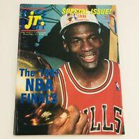 Tuff Stuff Jr. Magazine The 1991 NBA Finals & Michael Jordan Feature No Label VG