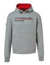 Neuf Véritable Porsche Drivers Sélection Hommes Gris Motorsport Capuche Size XL