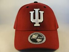 Indiana Hoosiers NCAA Flex Hat Cap Burgundy