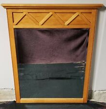 Ethan Allen Country Colors Collection Hardwood Mirror with Wheat Finish