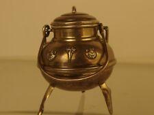 incenciario censer sterling silver Spanish 1940 botafumeiro santiago com shell