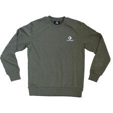 Converse Star Chevron Sweater Herren Pullover Grün Freizeit Pulli Sweatshirt