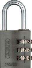 ABUS  Vorhangschloss 145/30 Titanium Zahlenschloss mit verstellbarem Code NEU